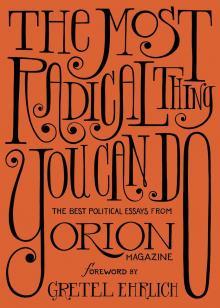Solnit Williams Point Reyes Books Orion Magazine